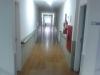 Corredores de acesso aos apartamentos